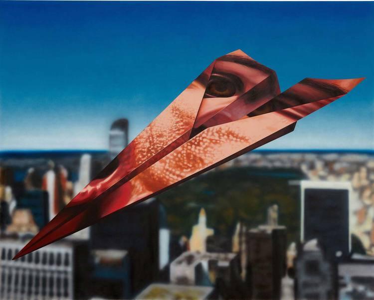'Glider', 2017, ett konstverk av Henry Gunderson