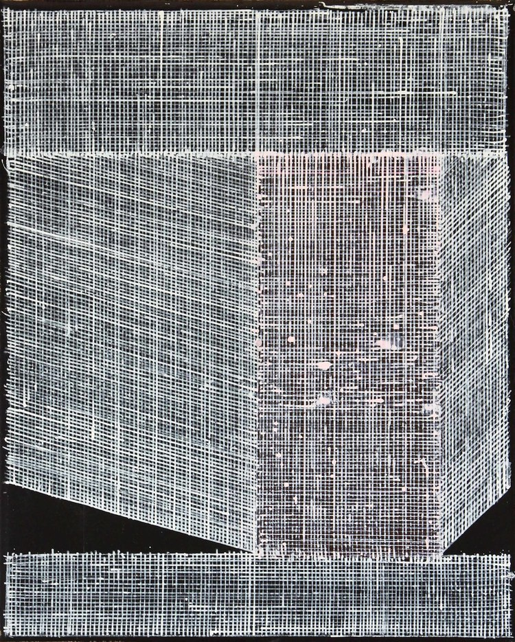 'Vit skulptur', 2017, ett konstverk av Andreas Waldén