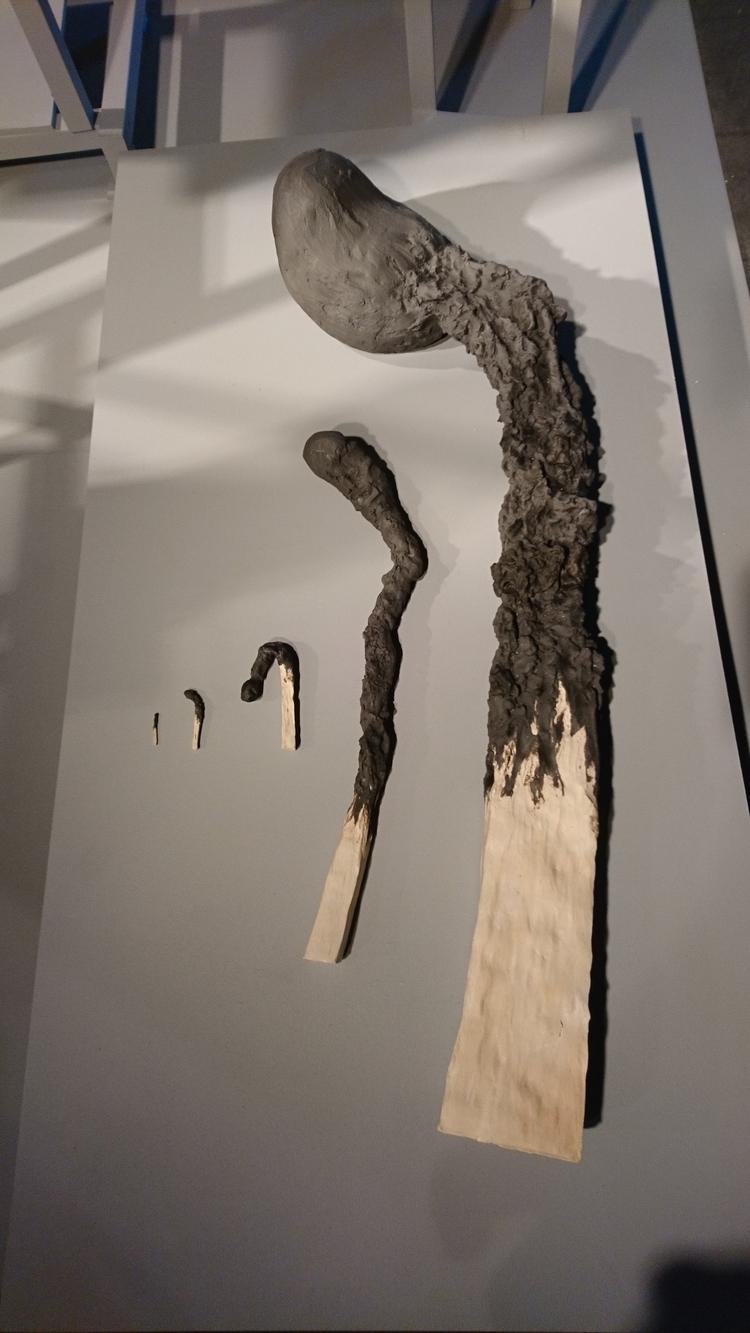 'Tändstickor', 2017, ett konstverk av Anna Tedestam