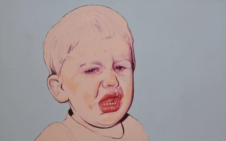 'Och allting är nu', 1993, ett konstverk av Marianne Lindberg De Geer
