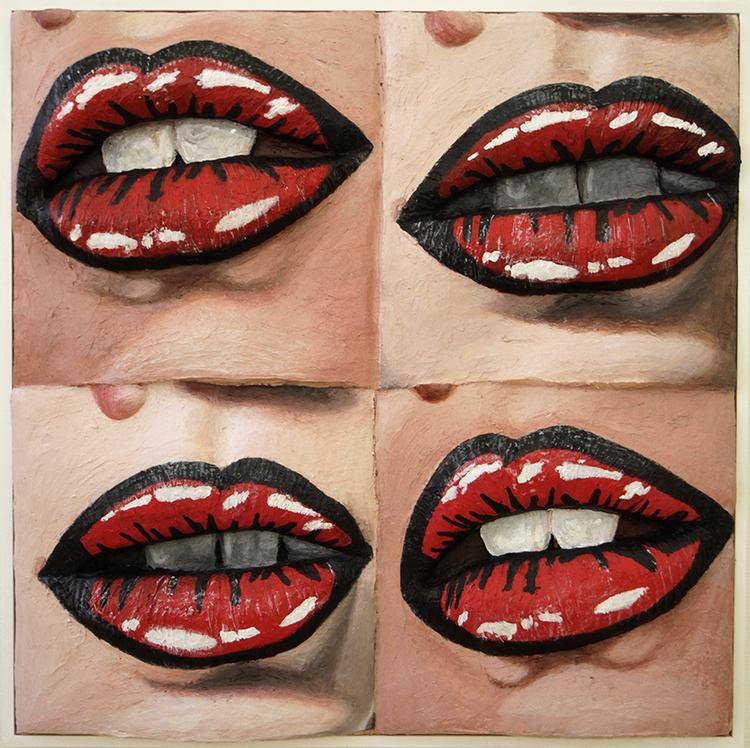 'Untitled', 2017, ett konstverk av Gina Beavers