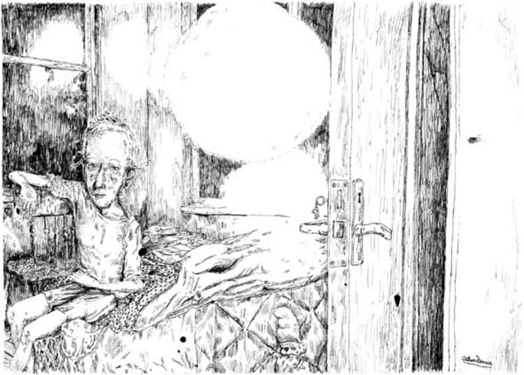 'One moment', ett konstverk av Oskar Korsár