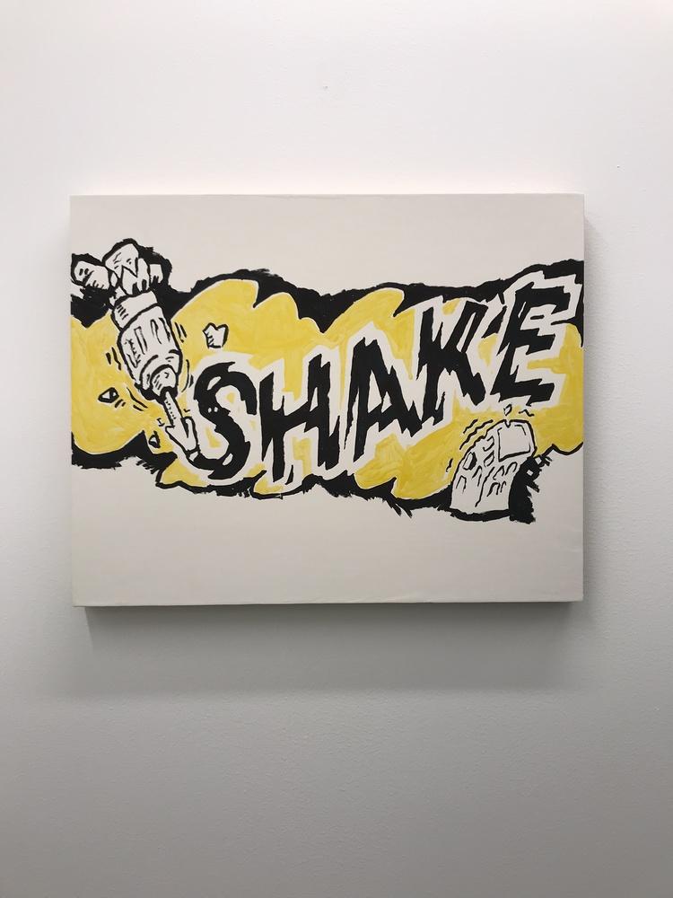 'Shake', 2017, ett konstverk av Olga Pedan