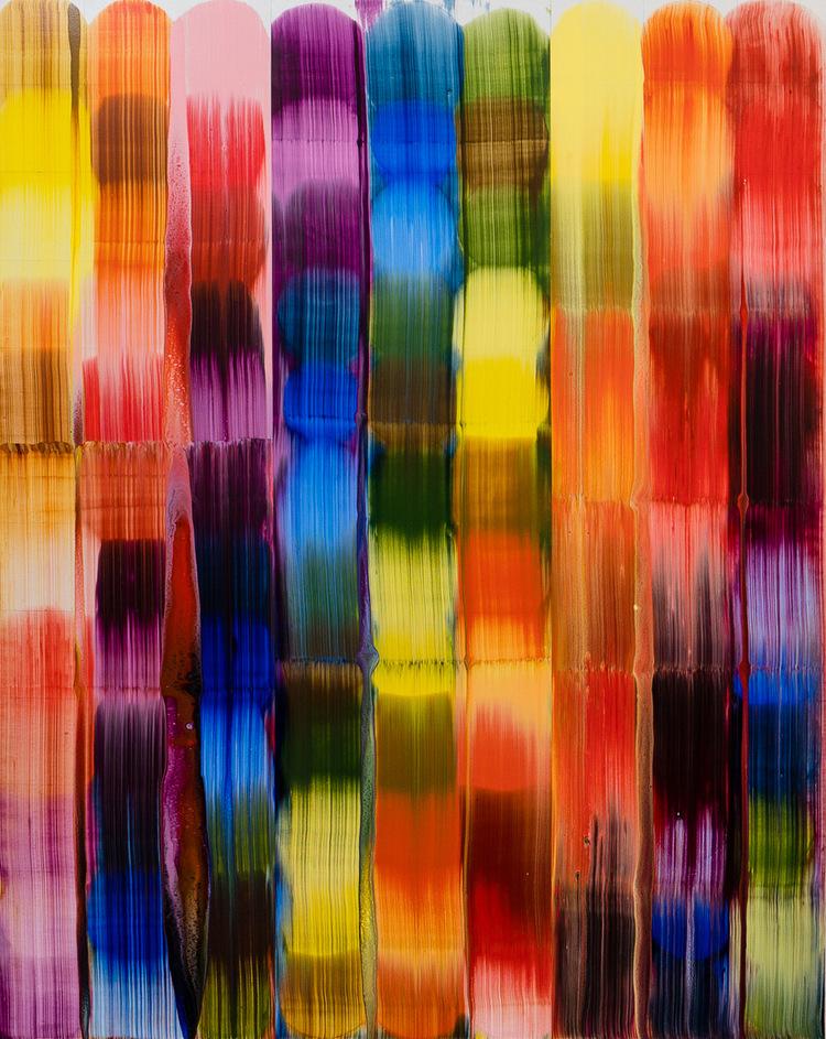 'Colour charge', 2018, ett konstverk av Stefan Johansson