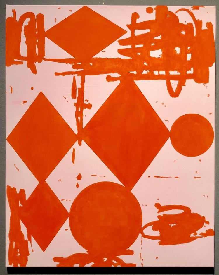 'Body of Work (small red)', 2014, ett konstverk av Thomas Elovsson