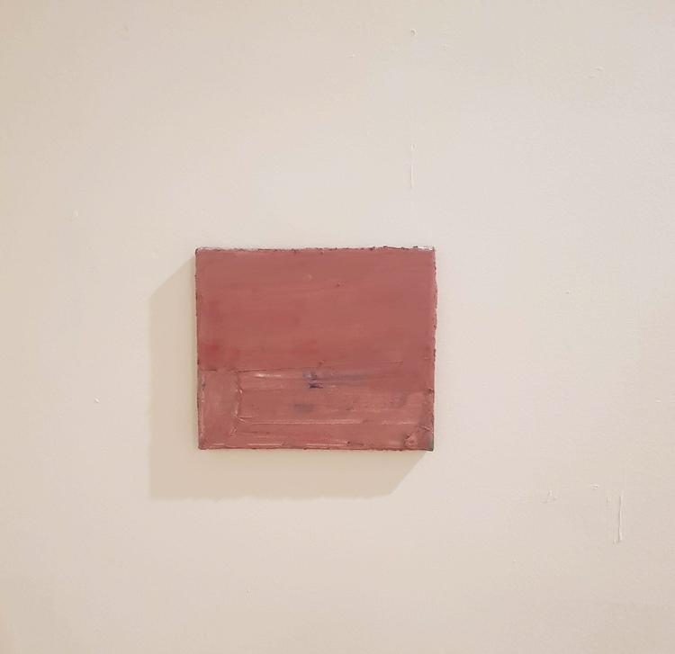 'Atlantis (röd)', 2018, ett konstverk av Nicklas Randau