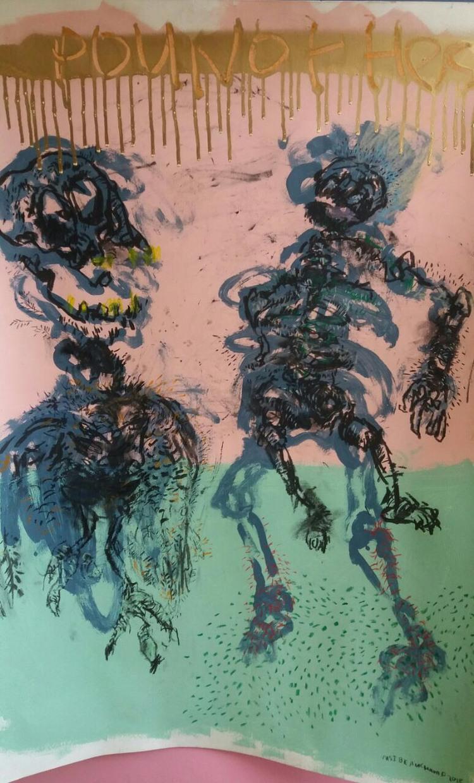 'Untitled', 2018, ett konstverk av Vusi Beauchamp