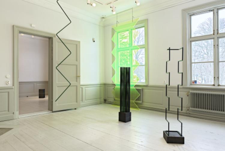 'Installation view', 2018, ett konstverk av Camilla Løw