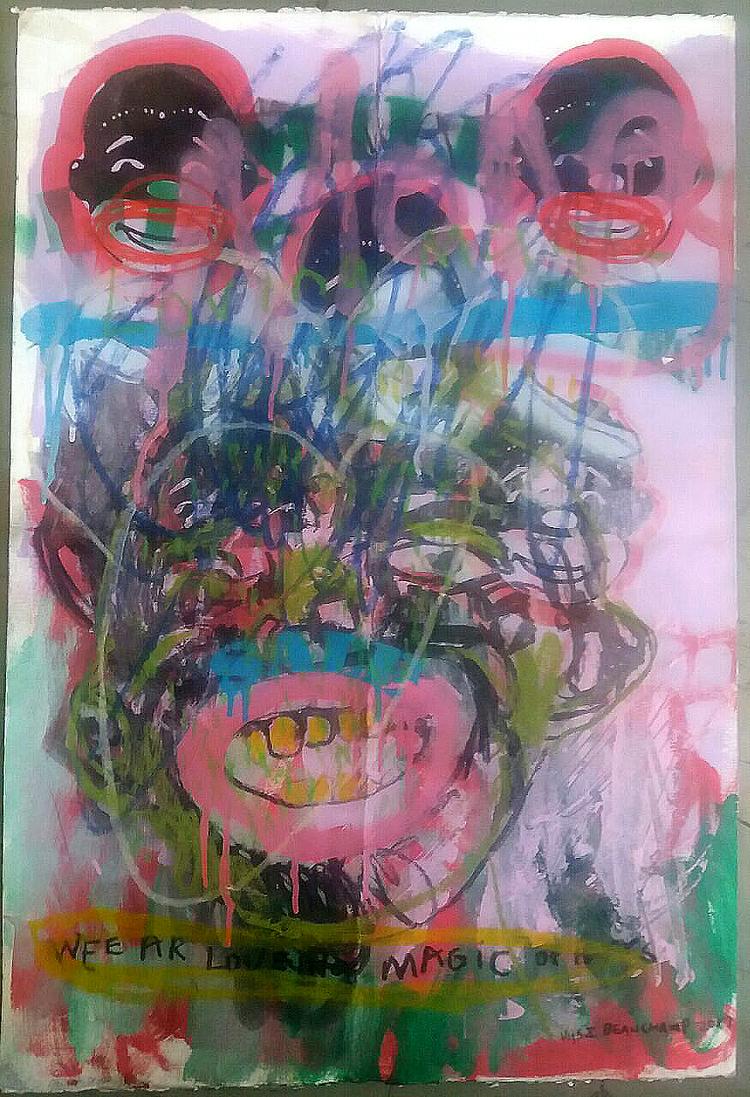 'Sale', 2017, ett konstverk av Vusi Beauchamp