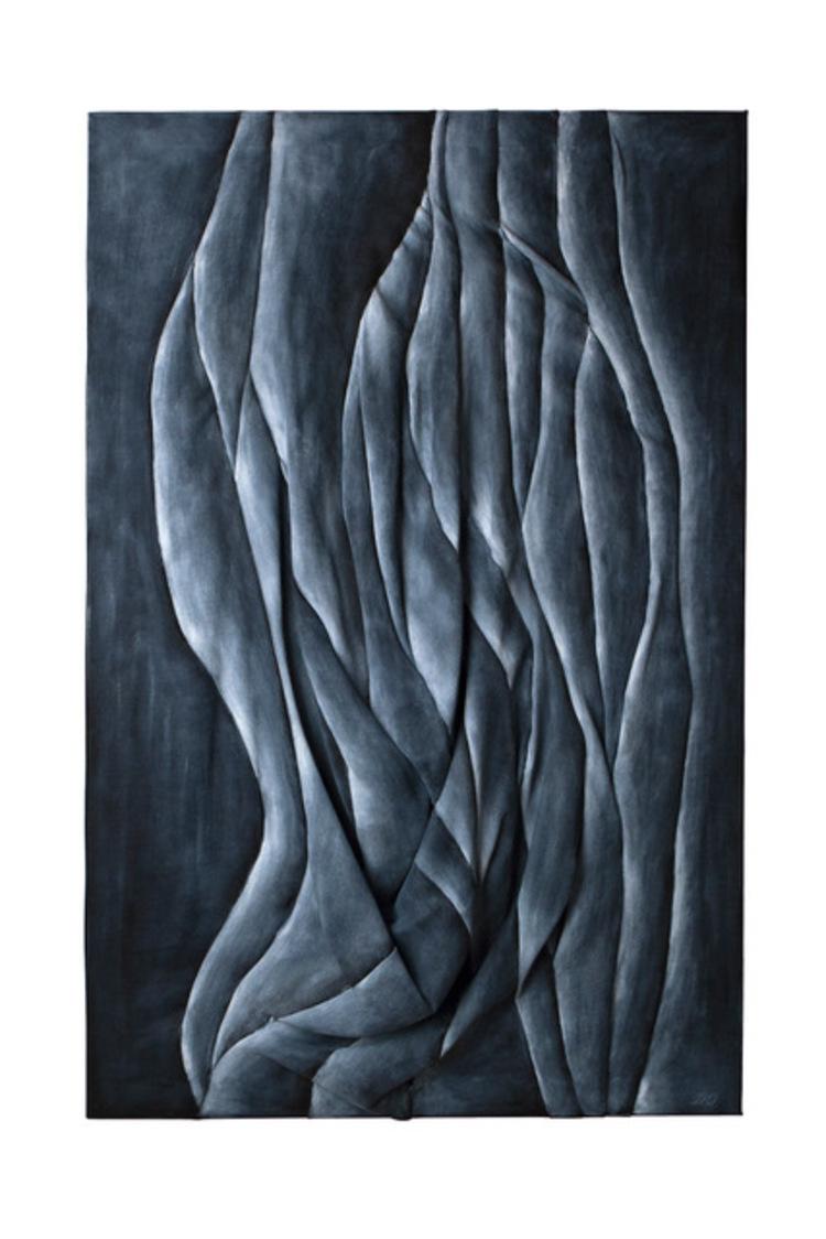 'Ridå', 2018, ett konstverk av Diana Orving