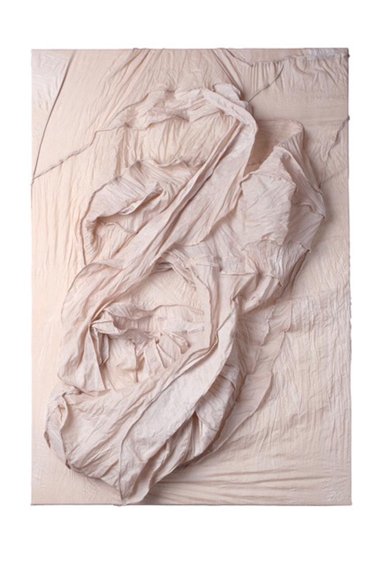 'Embryo', 2018, ett konstverk av Diana Orving