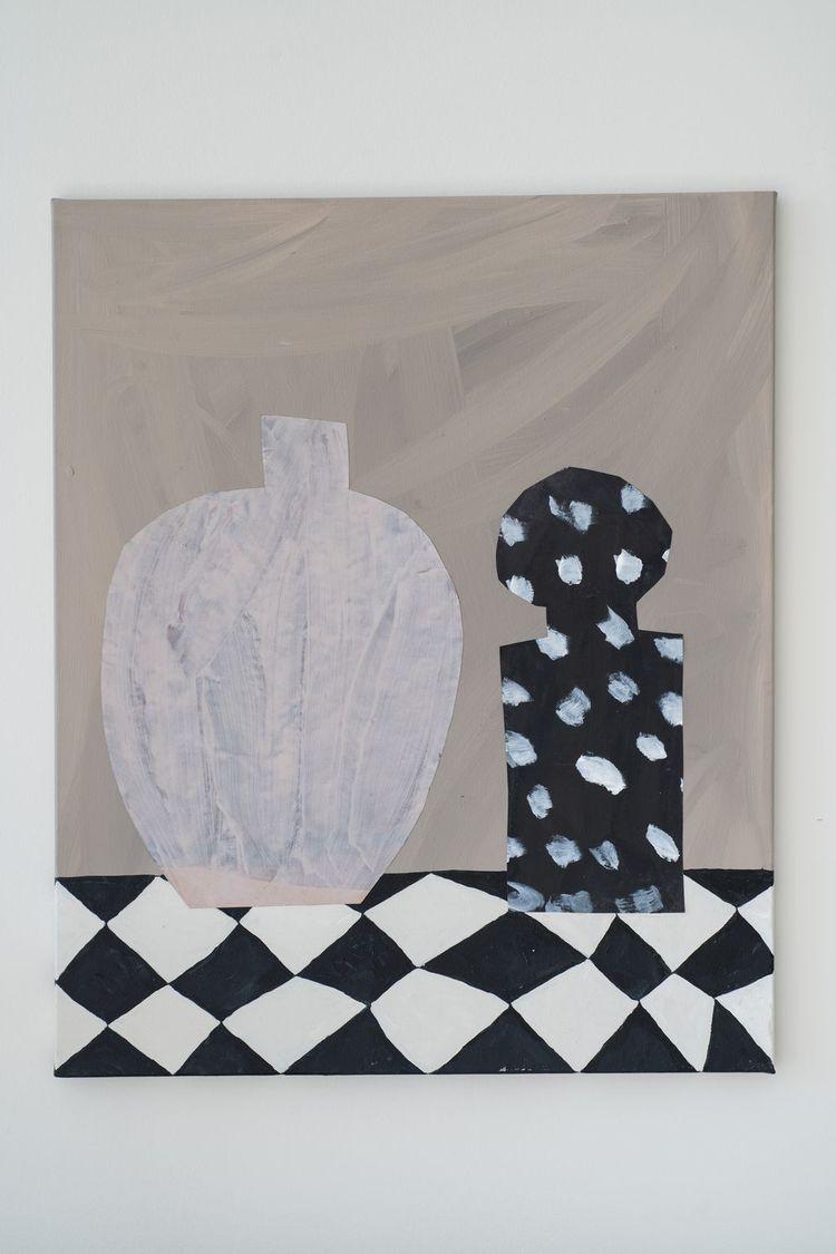 'Two', 2018, ett konstverk av Emilia Ilke