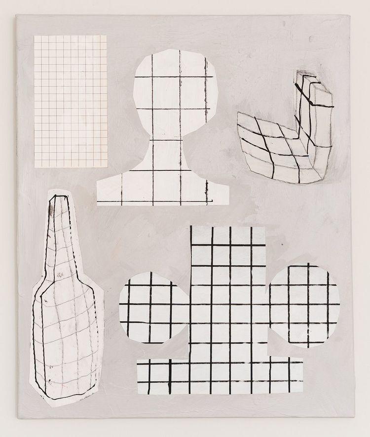 'Grid', 2018, ett konstverk av Emilia Ilke