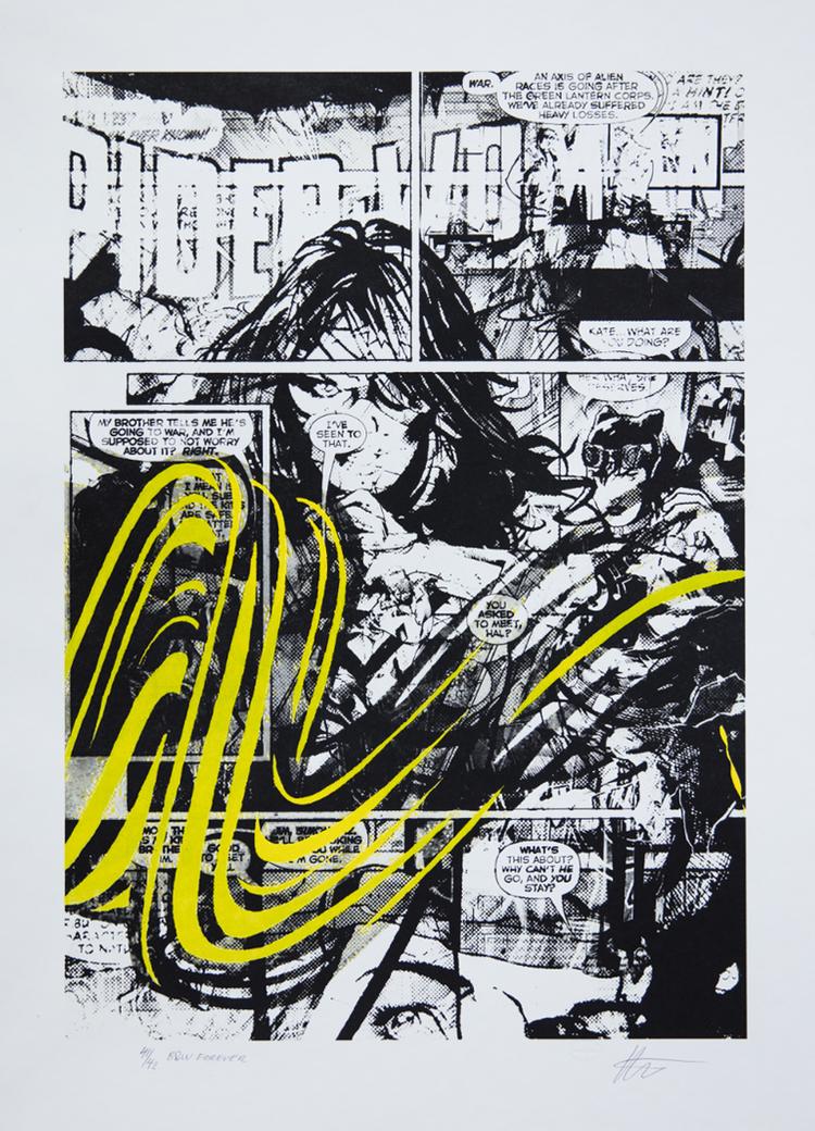 'B&W Forever', 2017, ett konstverk av Per Josephson