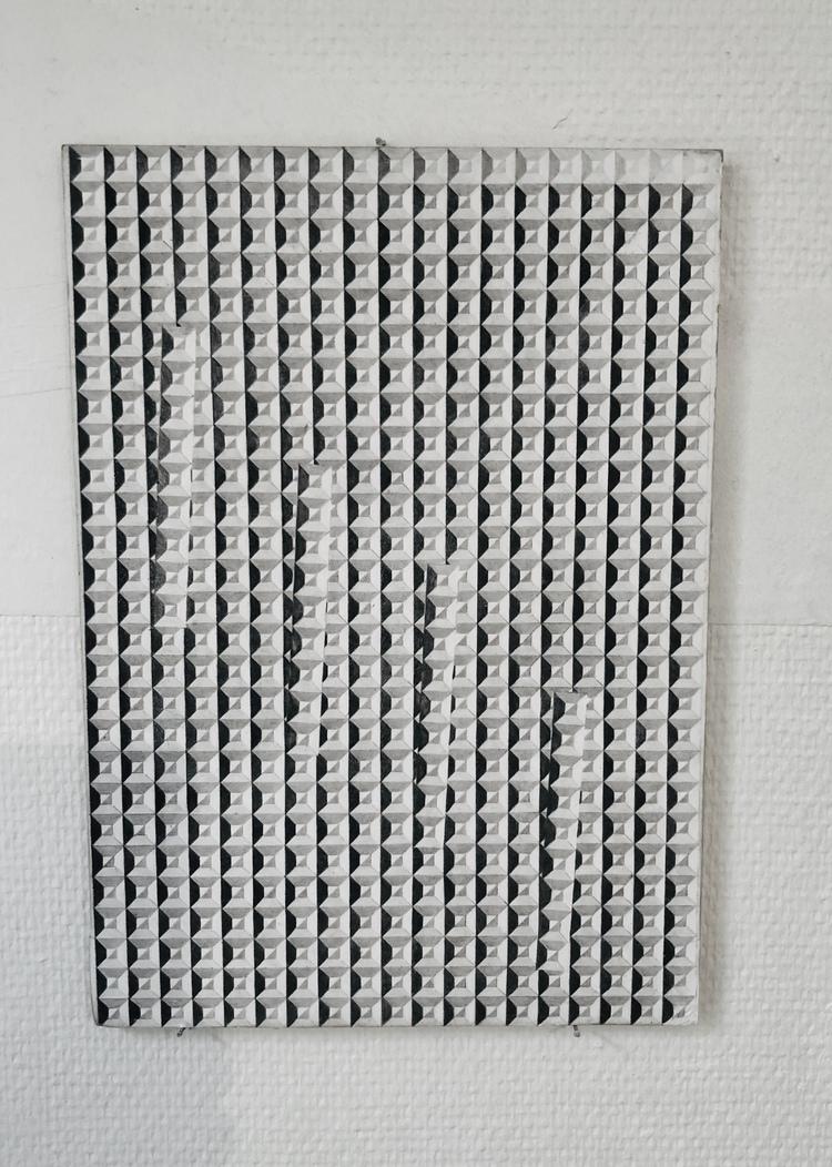 'Utan titel', 2018, ett konstverk av Niklas Karlsson