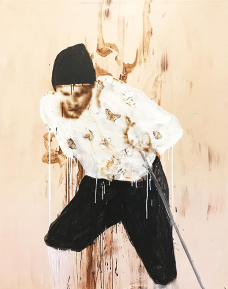 'Butterflushirt', 2017, ett konstverk av Hanna Kanto