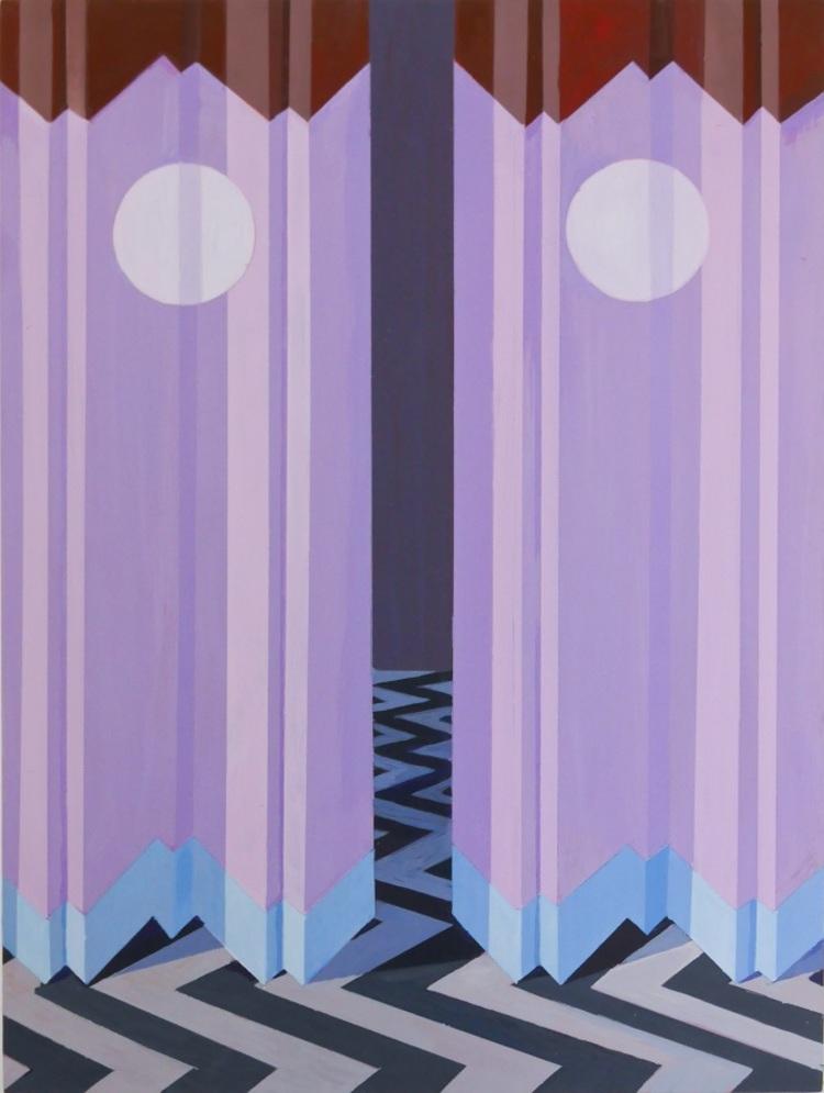 'Moon River / Misty Mountain Quartet / The Arctic Ocean', 2018, ett konstverk av Annika Johansson