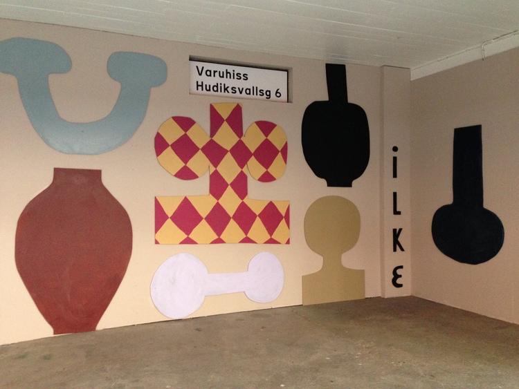 'Installation view', 2018, ett konstverk av Emilia Ilke