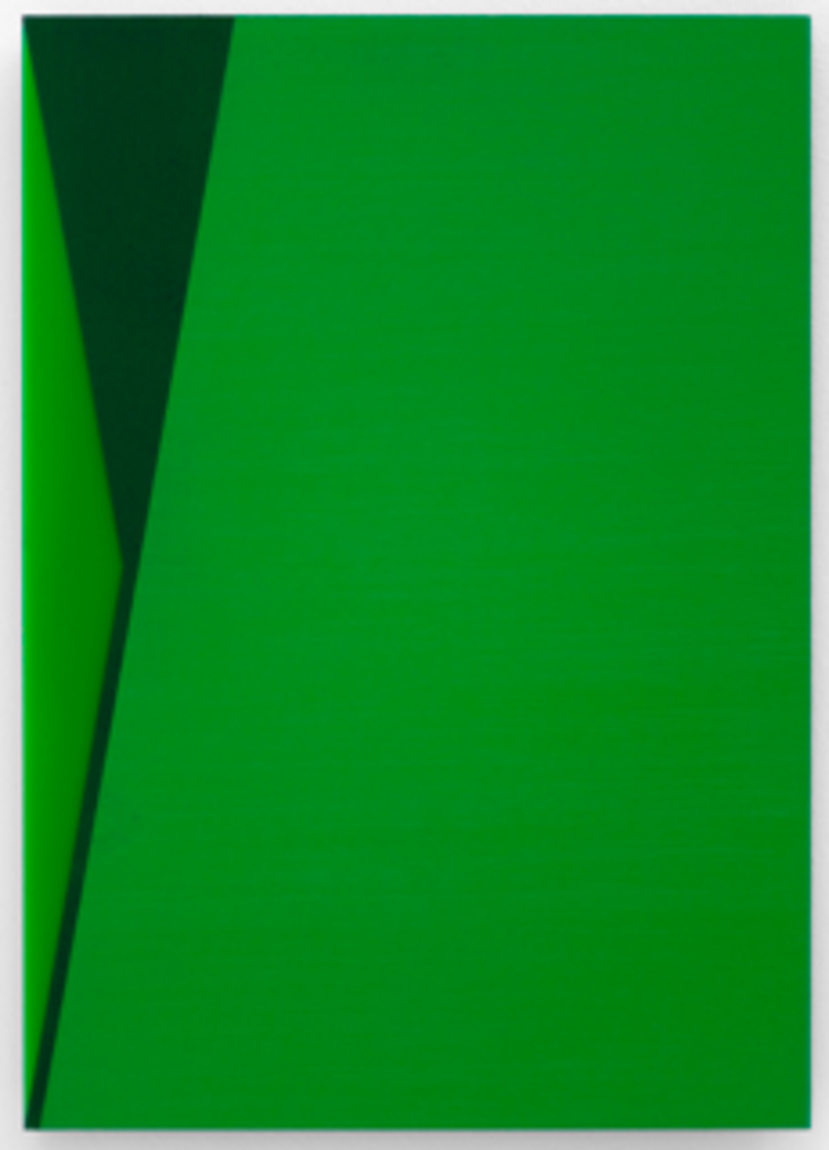'The Green Series nr. 13', 2018, ett konstverk av Anders Sletvold Moe