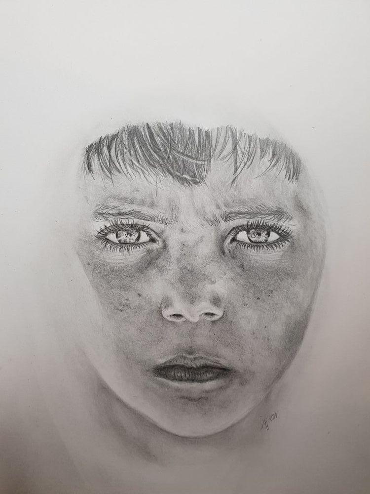 'Don't you worry child ', 2019, ett konstverk av Annamaria Johansson