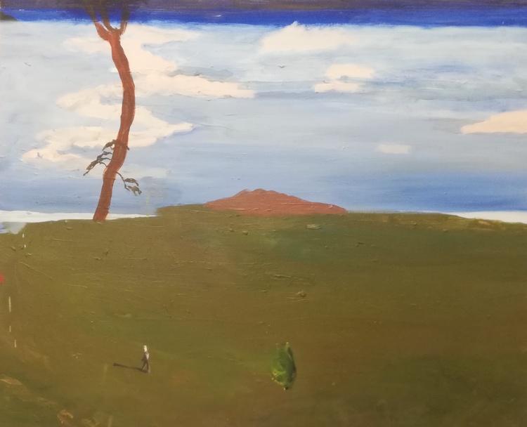 'Utåt sidan 1', 2008, ett konstverk av Märta König