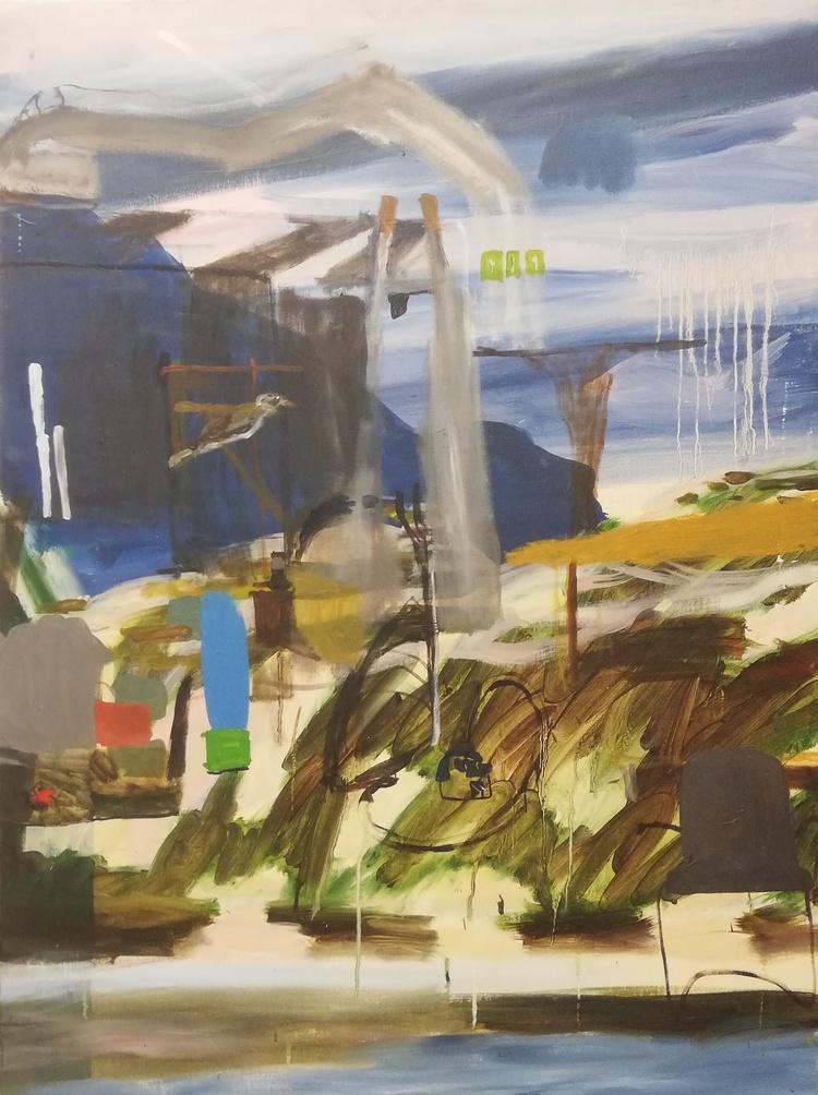 'Exteriör', 2008, ett konstverk av Märta König