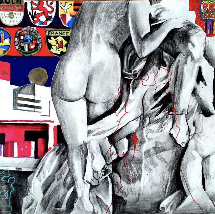 'Utan titel', ett konstverk av Erik Hårdstedt
