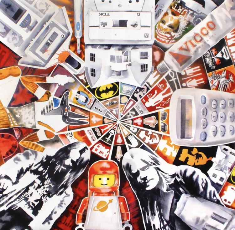 'Kaleidoskop I', ett konstverk av Erik Hårdstedt