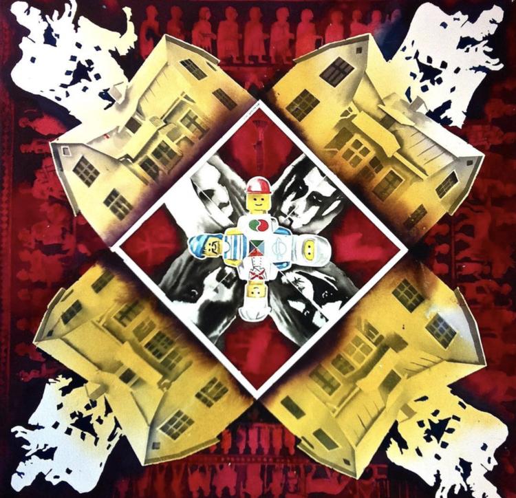 'Kaleidoskop II', ett konstverk av Erik Hårdstedt
