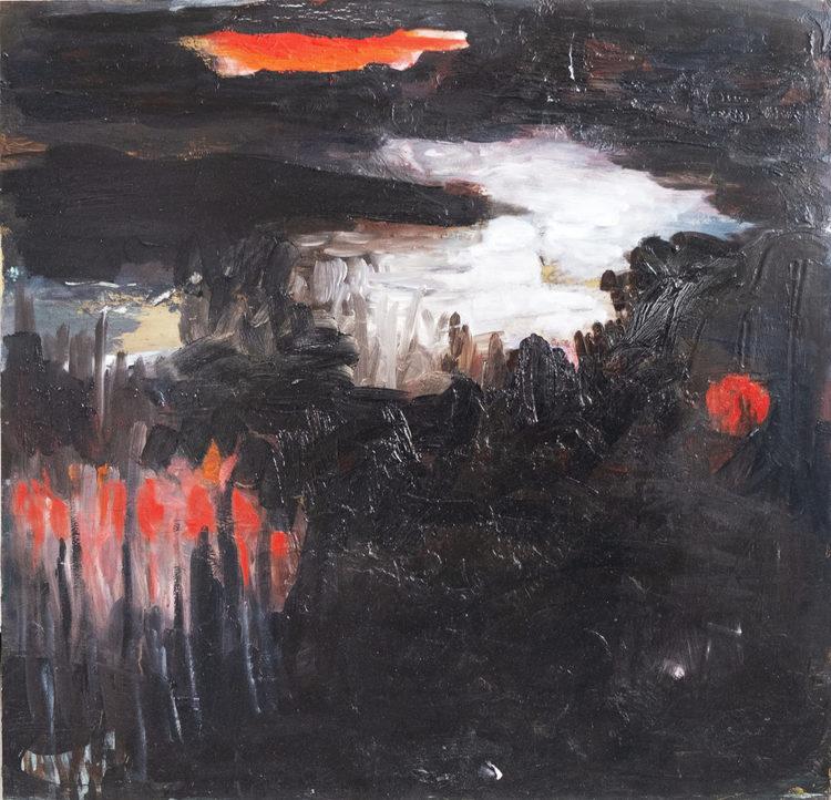 'Night', 2019, ett konstverk av Karin Lind