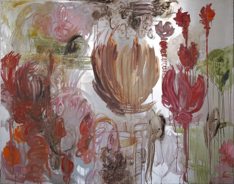 'Fountain II', 2019, ett konstverk av Karin Lind