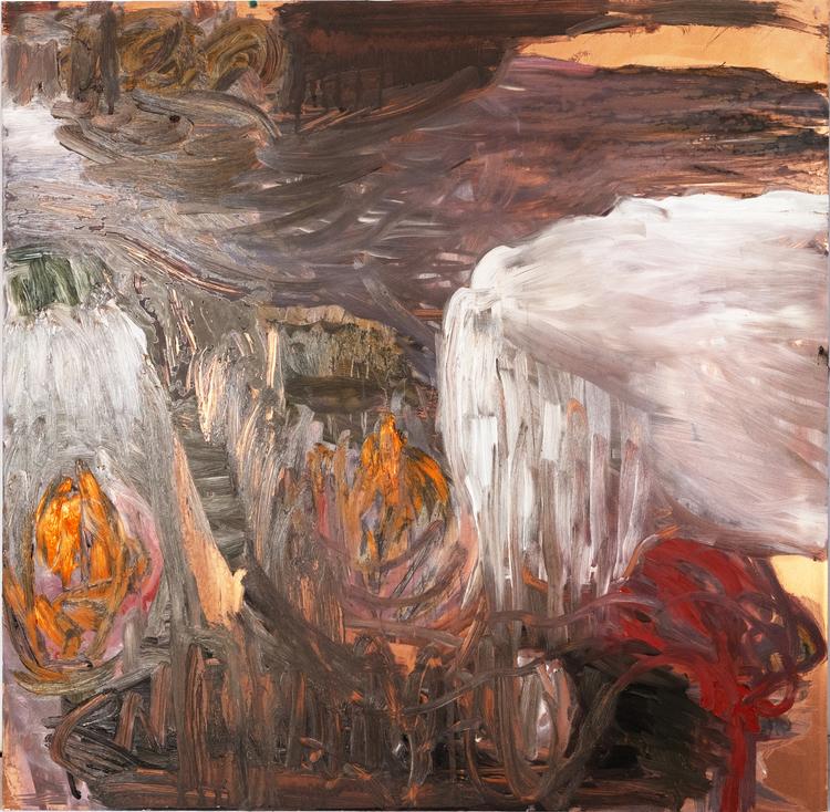 'Flow', 2020, ett konstverk av Karin Lind