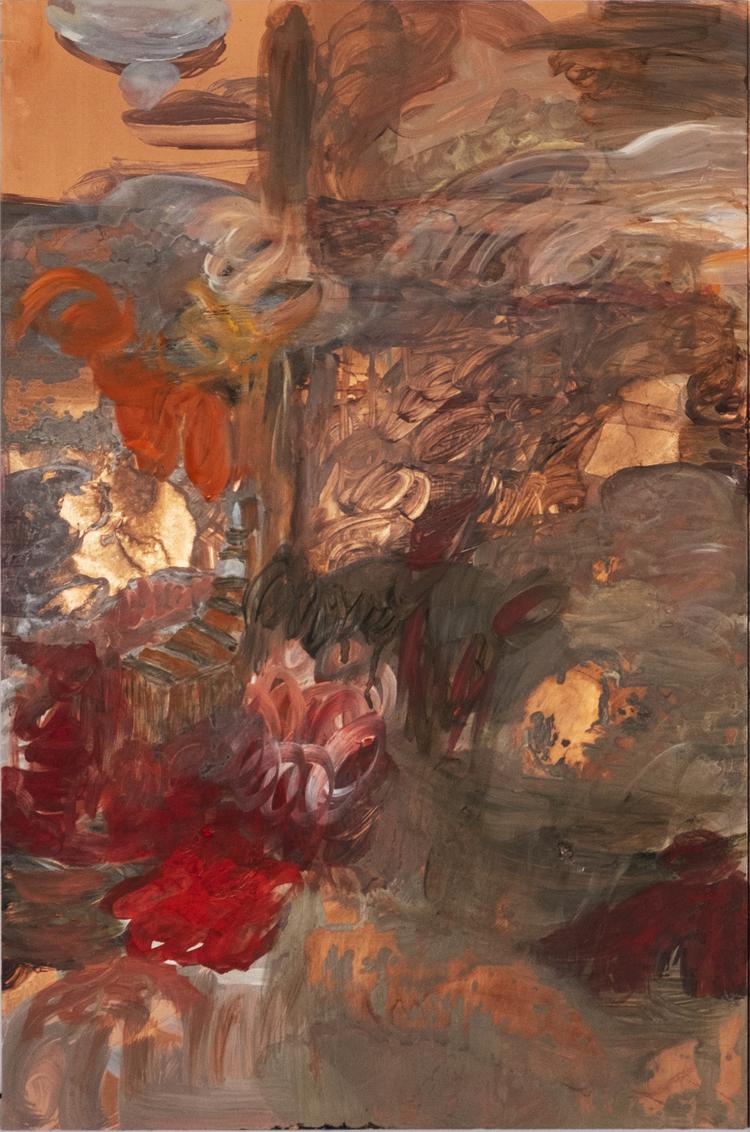 'Land Ecape III', 2020, ett konstverk av Karin Lind