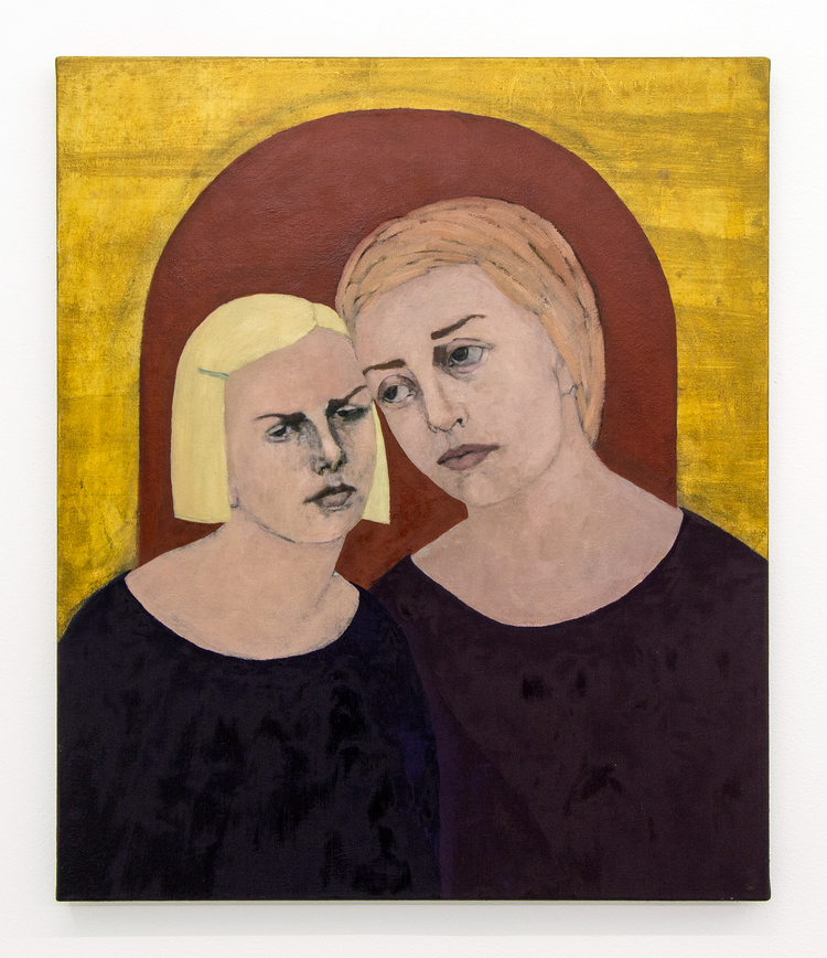 'Min mammas dotter', 2018, ett konstverk av Humlan Lange