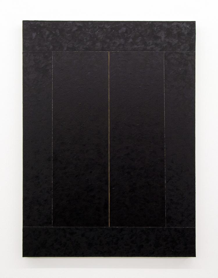 'Bild i olika mörka I', 2019, ett konstverk av Inez Jönsson