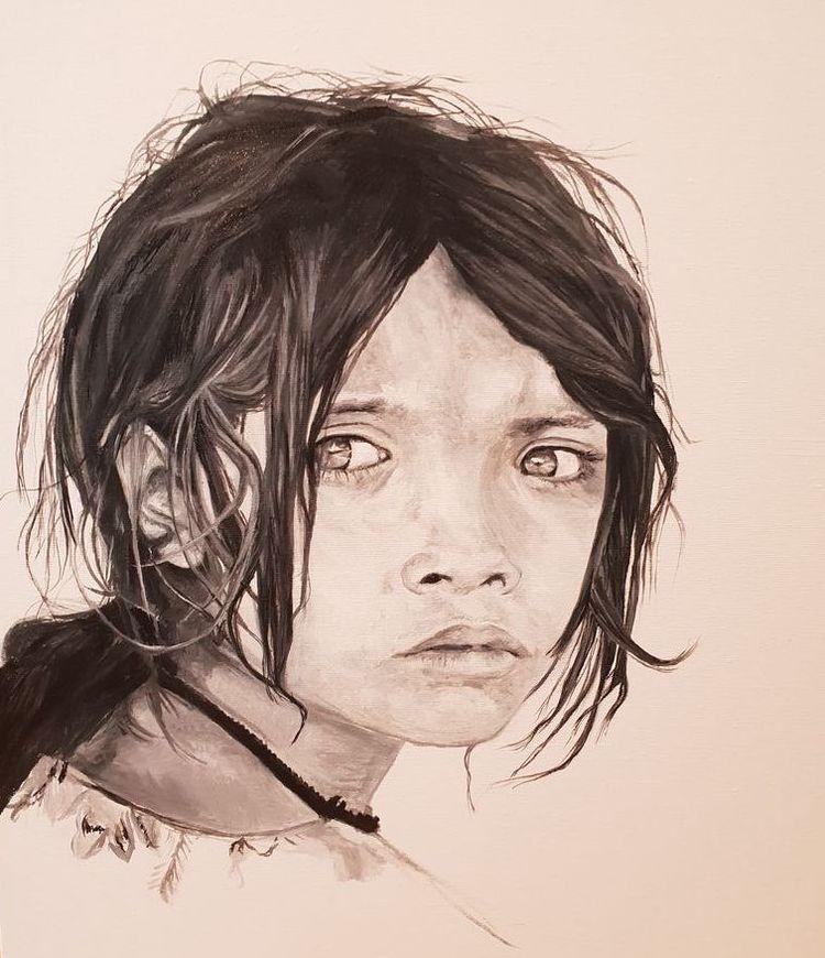 'This time', 2020, ett konstverk av Annamaria Johansson