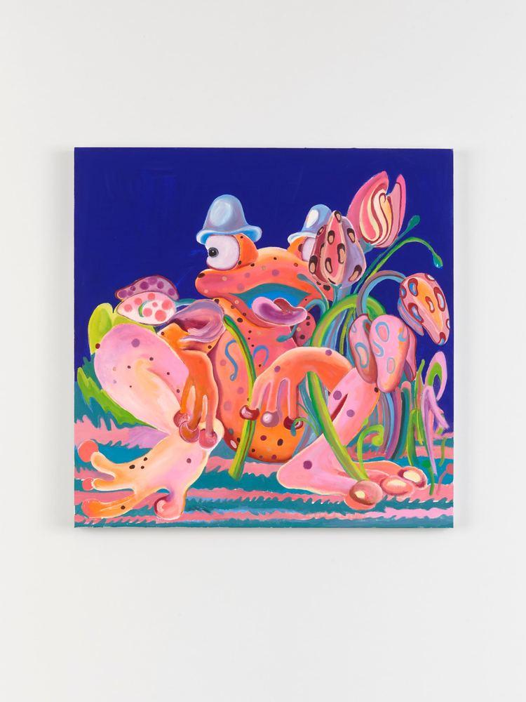 'Midnight Delight', 2018, ett konstverk av Alake Shilling