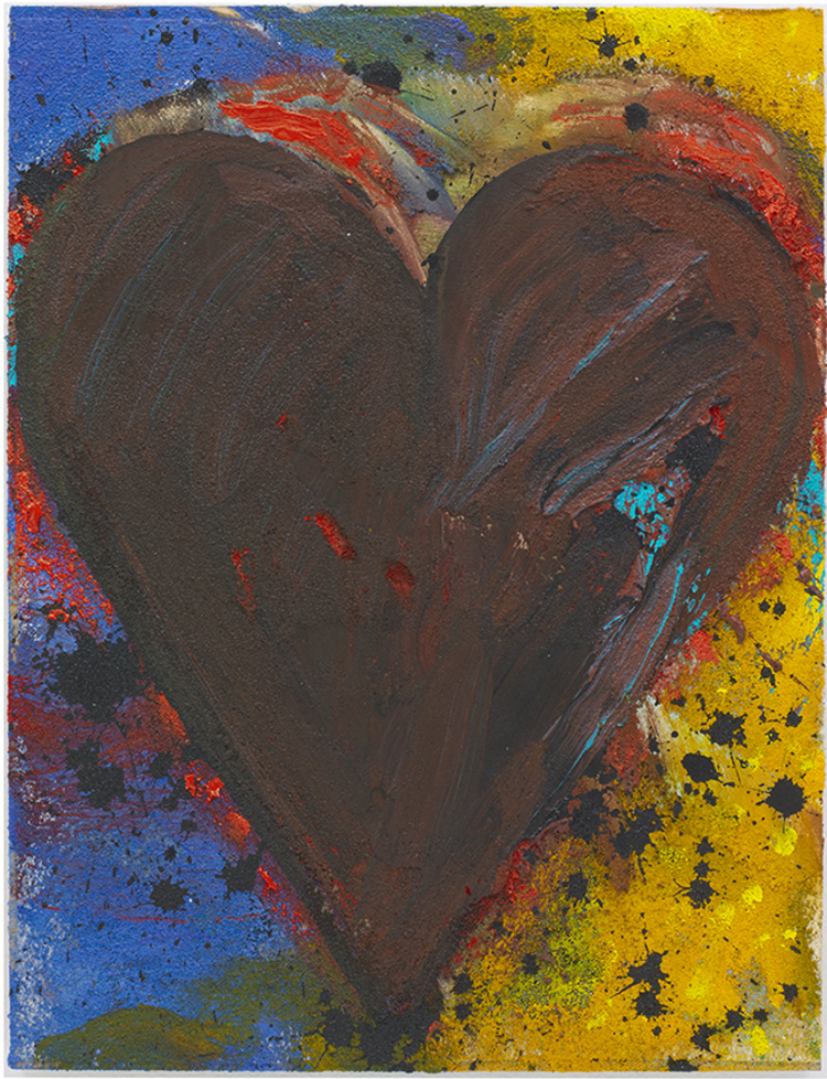 'Cottonwood Darkness', 2014, ett konstverk av Jim Dine