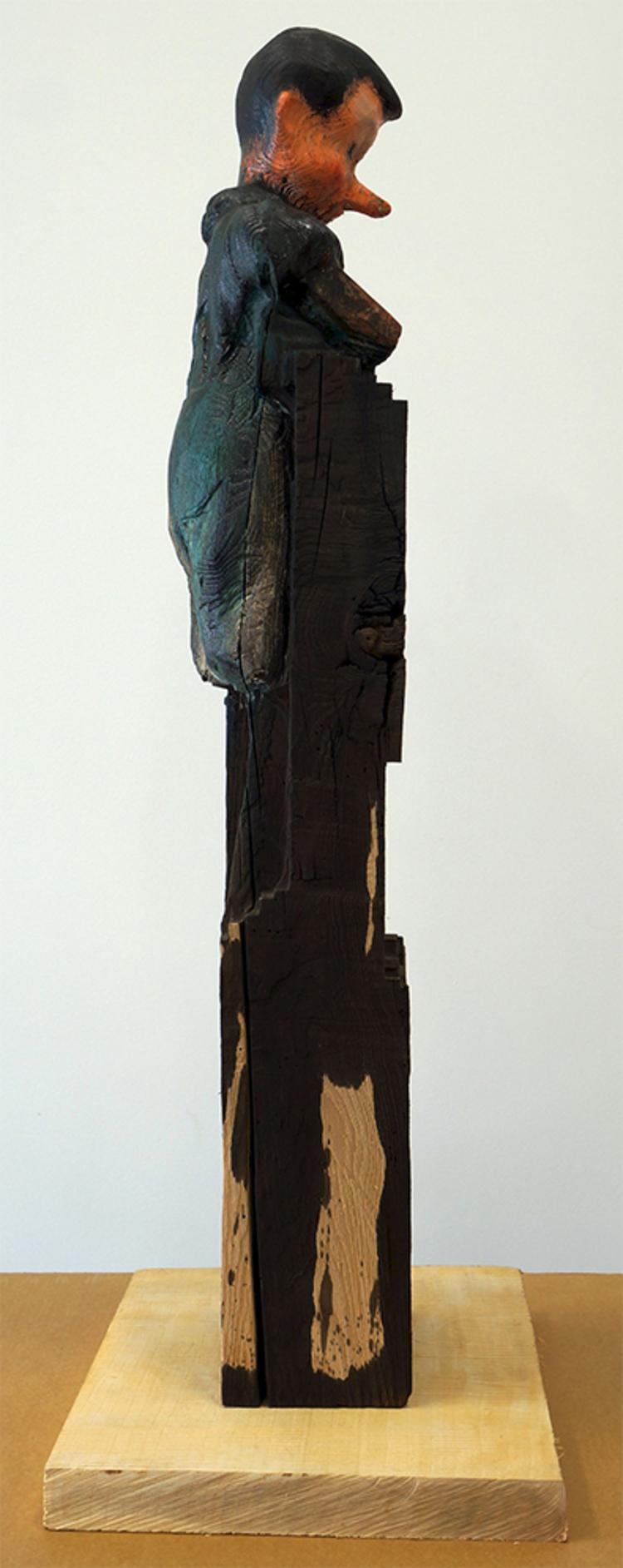 'Pinocchio from the Beam', 2012, ett konstverk av Jim Dine