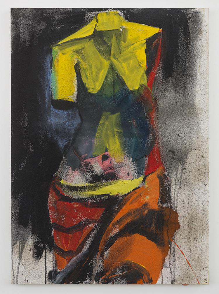 'Nina's Song', 2013, ett konstverk av Jim Dine
