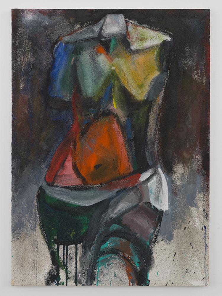 'Nina's Song #5', 2013, ett konstverk av Jim Dine