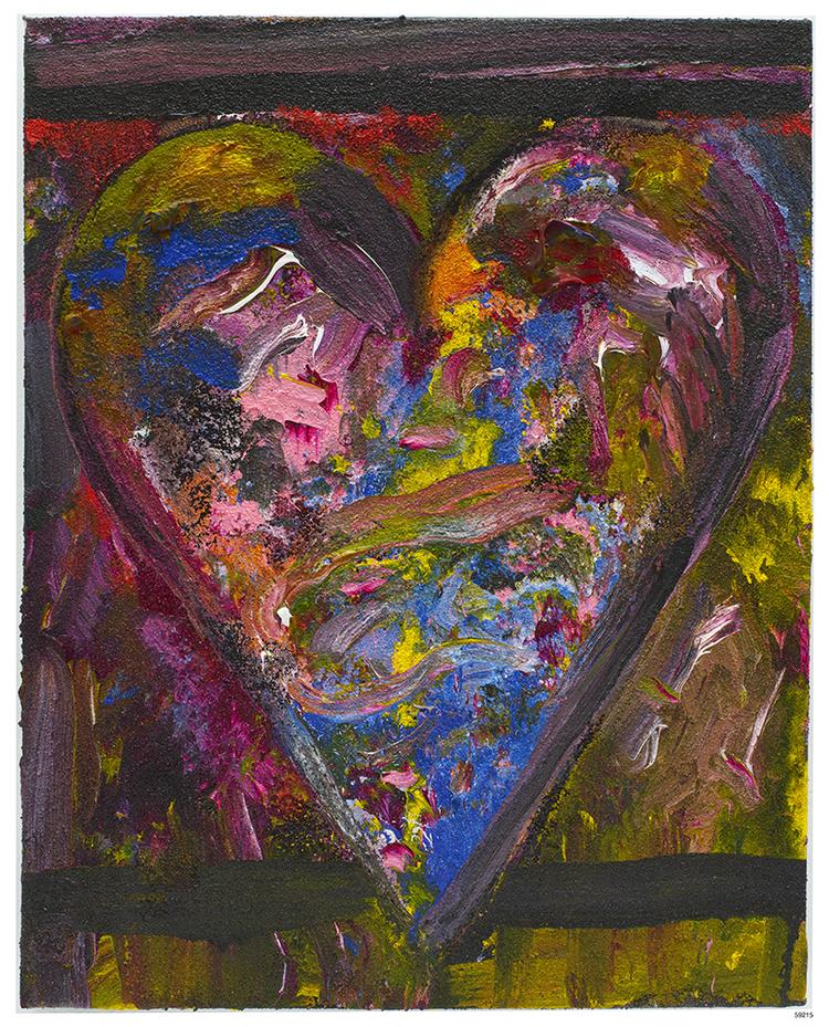 'The Florist', 2014, ett konstverk av Jim Dine