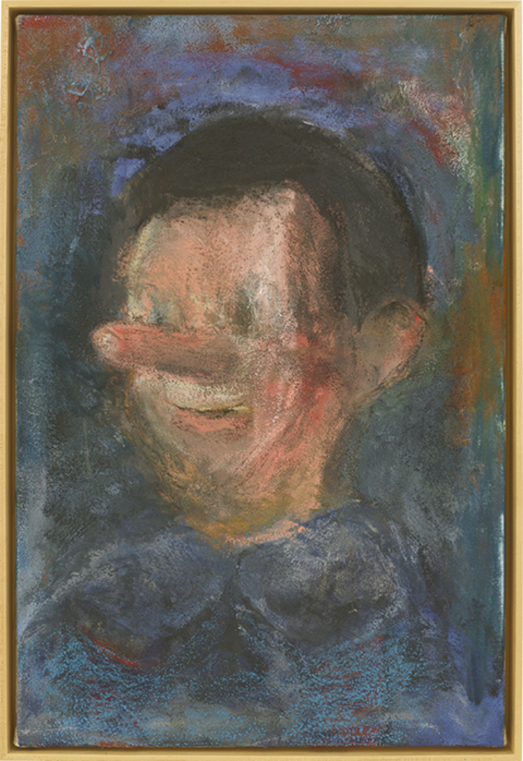 'Pinocchio, Old Age', 2013, ett konstverk av Jim Dine