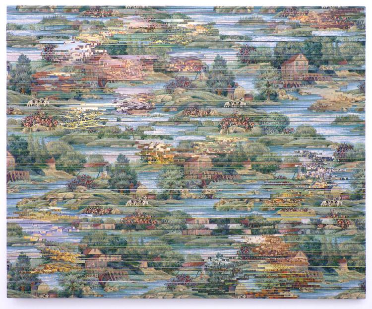 'Landscape (Mill)', 2017, ett konstverk av Elisabeth Westerlund