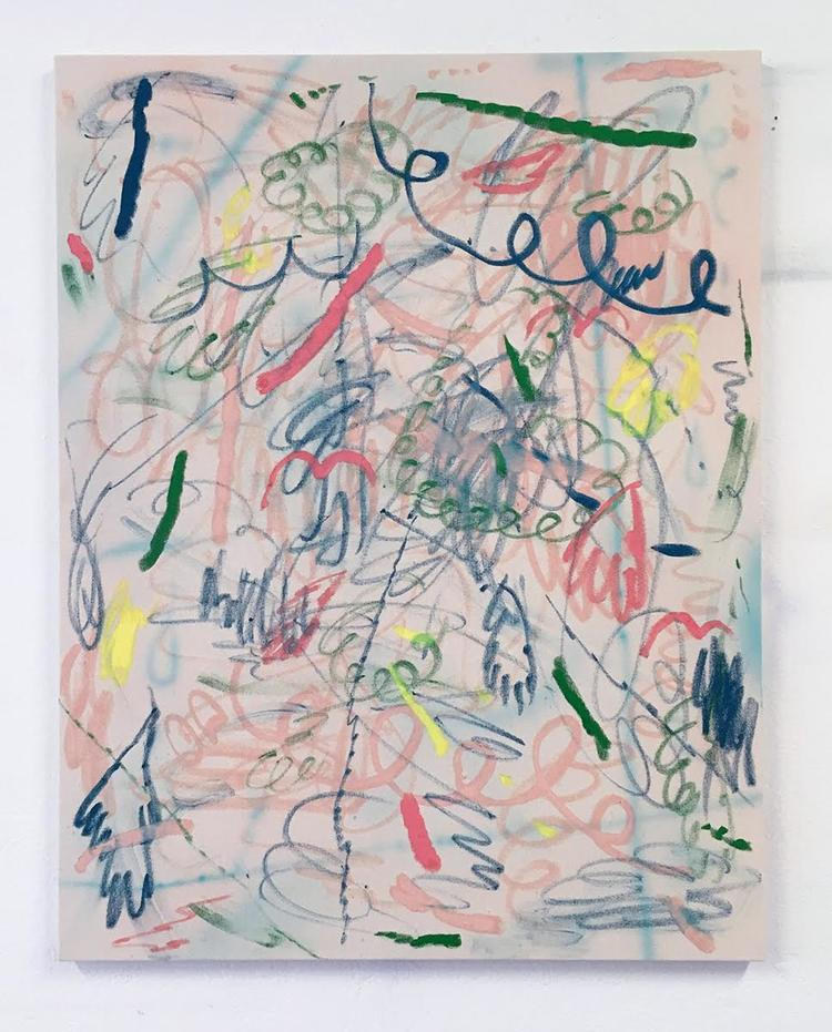 'Utan titel (AC)', 2017, ett konstverk av Daniel Jensen