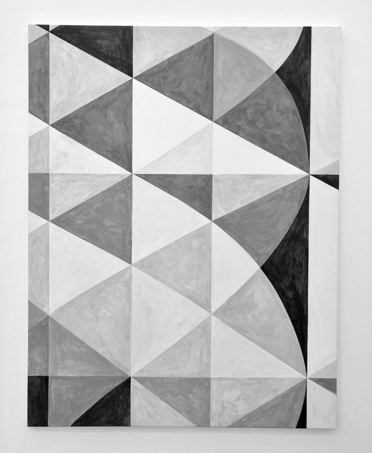 'Växelspel i ytan', 2018, ett konstverk av Thomas Elovsson
