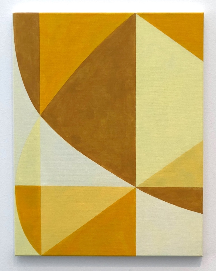 'Rörelse i rummet', 2018, ett konstverk av Thomas Elovsson