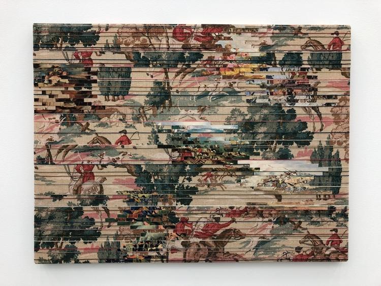 'Landscape (Hunters)', 2018, ett konstverk av Elisabeth Westerlund