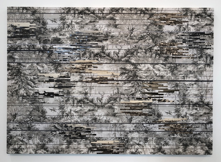 'Landscape (France)', 2018, ett konstverk av Elisabeth Westerlund