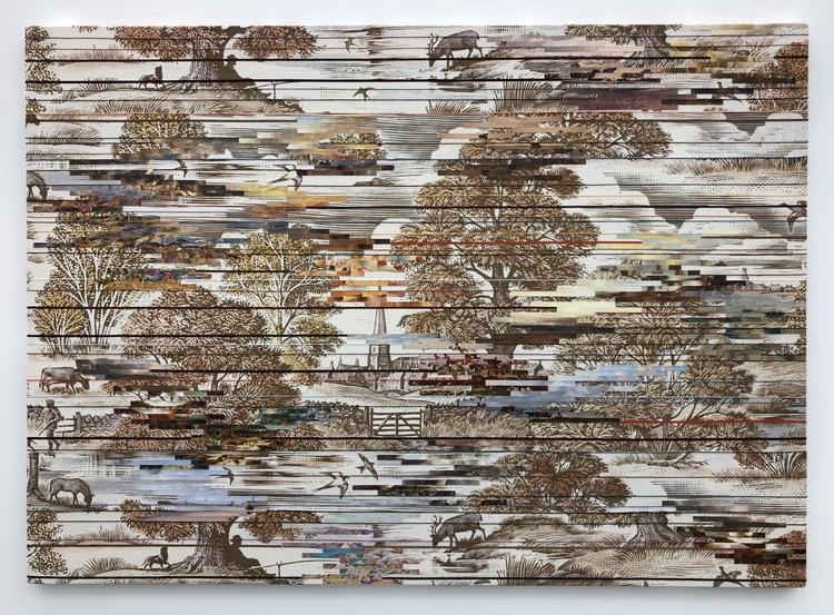 'Landscape (Autumn) ', 2018, ett konstverk av Elisabeth Westerlund